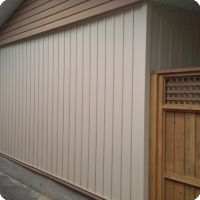 Vinyl Siding - Light Maple Color
