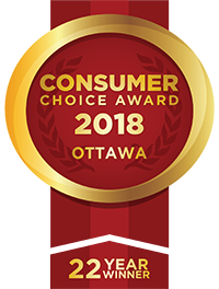 Consumer Choice Awards - Windows Ottawa